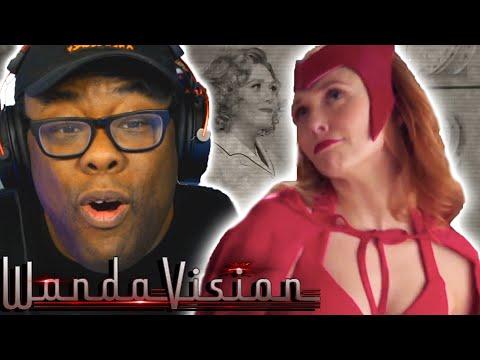 WANDAVISION Trailer Reaction & Breakdown | Black Nerd Comedy