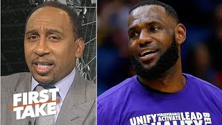 Stephen A. & Max Kellerman's Lakers vs. Clippers predictions   First Take