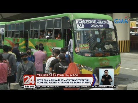 [GMA]  24 Oras: Ilang manggagawa, handa raw maglakad na lang kung walang masasakyan