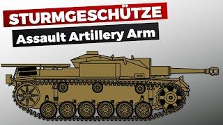 Sturmgeschütz (StuG) - German Assault Artillery -  History & Organization  #StugLife
