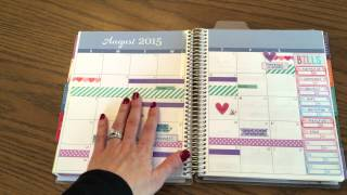 2015 Erin Condren Life Planner Year In Review By JenPlans