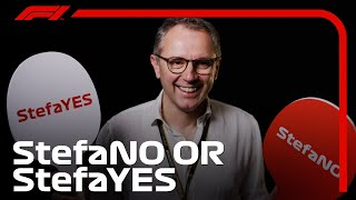 Yes or No? F1 CEO Stefano Domenicali Answers Quickfire Questions