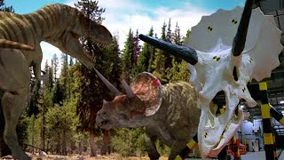 T. Rex VS Triceratops: Who Would Win In A Fight? | Deadly Dinosaurs | Earth Unplugged