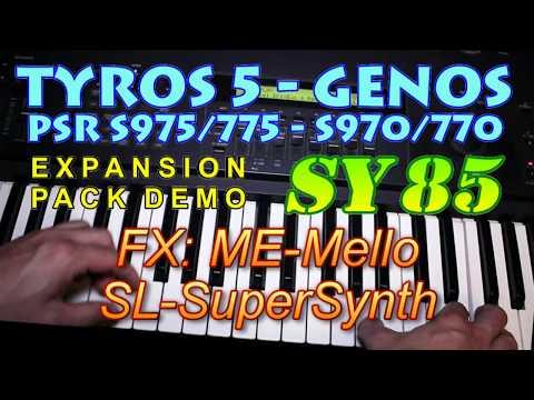 Genos/s975/s775/s970/770/tyros5 все видео по тэгу на igrovoetv online