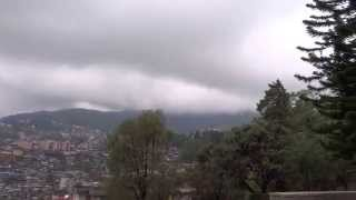 preview picture of video 'Full Round Moving View Of Kohima Town, From World War Cemetery; Nagaland, Northeast India'