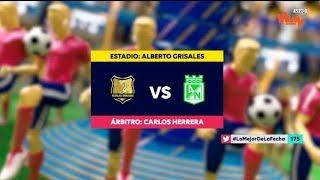 Rionegro Vs Nacional - Resumen Y Mejores Jugadas | Liga Aguila 2019-1 | Fecha 17