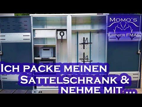 Ich PACKE meinen SATTELSCHRANK & nehme mit | Großewinkelmann | Momo's Turnier FMAs