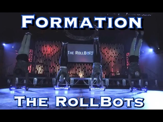 Epic Hoverboard Dance 2 – The RollBots