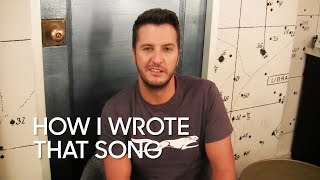 "How I Wrote That Song: Luke Bryan ""Strip It Down"""