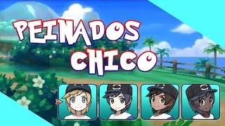 TODOS Los PEINADOS De CHICO De Pokémon Sol Y Luna