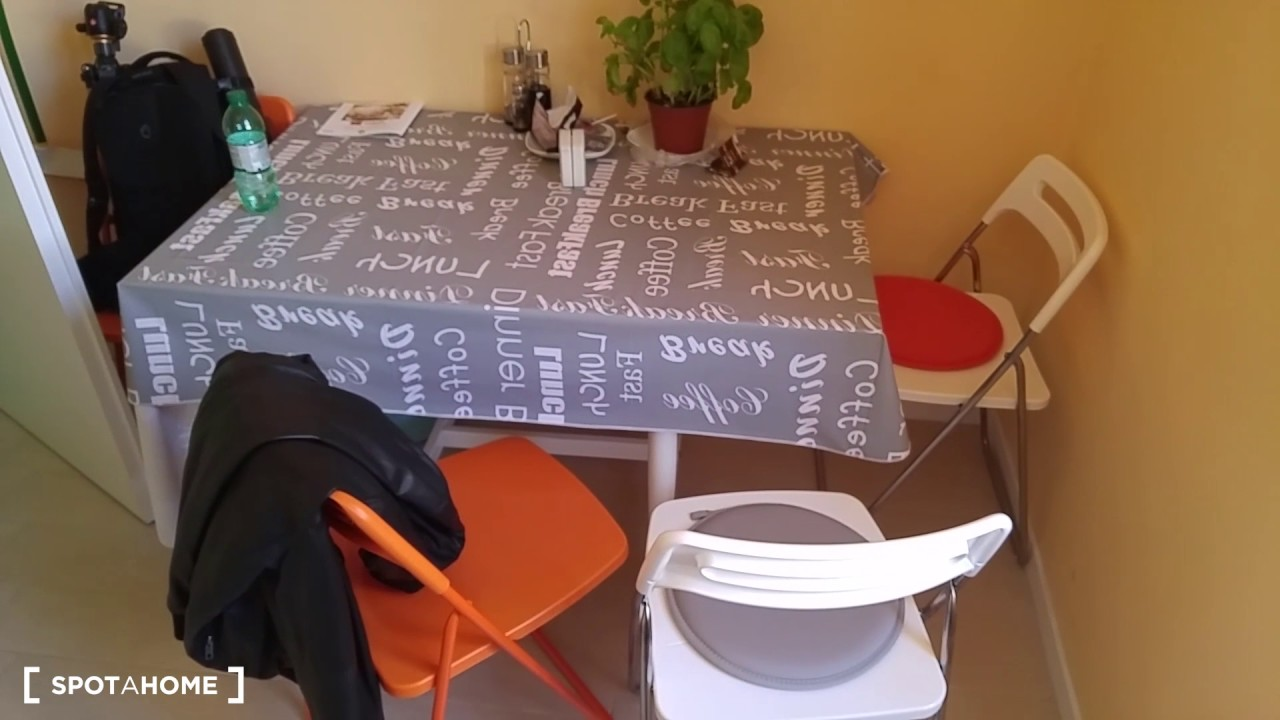 Rooms for rent in refurbished 2-bedroom apartment in Prenestino