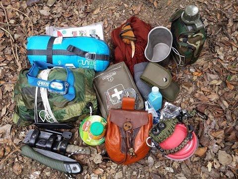 Mochila de SUPERVIVENCIA para acampada EXTREMA 😱🌲⛺