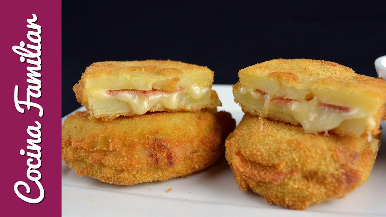 Sándwich de patata con jamón y queso | Javier Romero