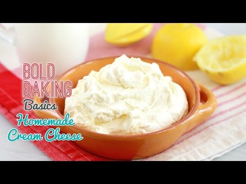 How to Make Cream Cheese – Gemma's Bold Baking Basics Ep  11