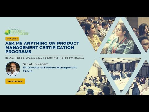 Ask Me Anything on Product Management Certification Programs ...