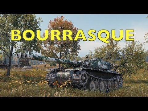 WOT - Bourrasque Tank Review | World of Tanks