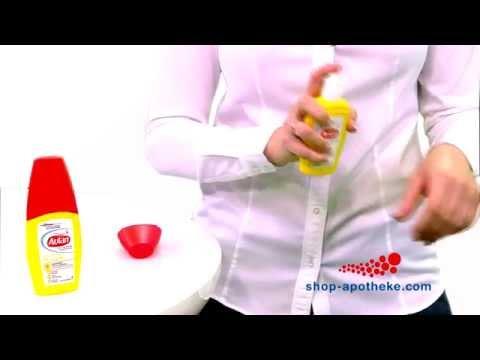 Wie wird Autan® Protection Plus Pumpspray richtig angewendet?