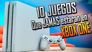 10 Juegos De PS4 Que Los Xboxers SUPLICARÍAN Tener - 2017