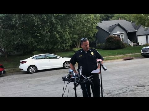 The Bellbrook Police Department Chief of Police, Doug Doherty read a statement from the Betts family, whose son fatally gunned down nine people outside a bar in Dayton, Ohio. The shooter's own sister was one of those killed. (Aug. 7)