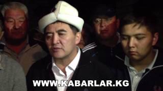 Камчыбек Ташиев сот залынан бошотулду