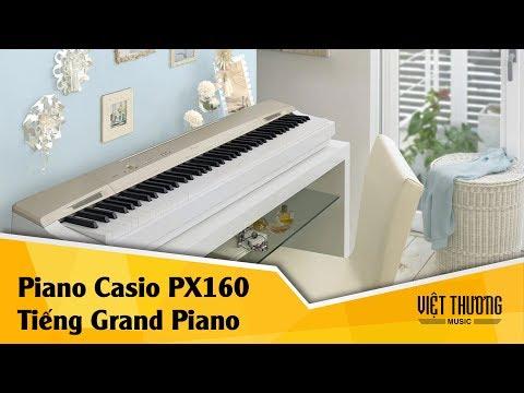 Demo tiếng đàn grand piano trên Casio PX160
