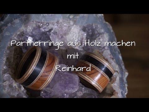 DIY: Ring aus Massivholz herstellen