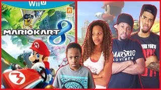 OH SNAP!! CAN YOU BELIEVE IT??! - Family Beatdown I Mario Kart 8 Gameplay