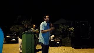 PATRICK ROGERS, BPP POLITICAL LEADER VISITS, PUNTA GORDA