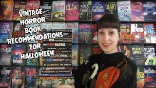 Vintage Horror Book Recommendations For Halloween!