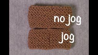 Jogless Garter Stitch In The Round // Technique Tuesday