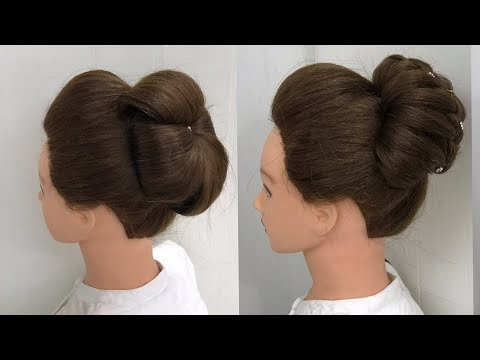 New Flower Juda Hairstyle For Weddings And Party Simple Juda
