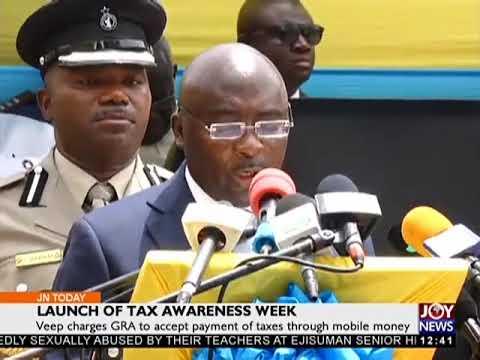 Launch Of Tax Awareness Week - Joy Business Today (6-4-18)