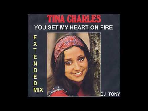 Tina Charles - You Set My Heart on Fire (12'' Extended Mix - DJ Tony)