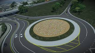 I-69 ORX: KY 351 Roundabout Flyover