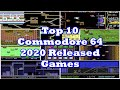 Top 10 Commodore 64 2020 Released Games
