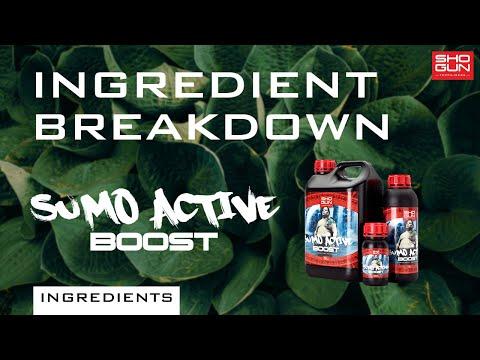 Ingredients Breakdown SHOGUN Sumo Active Boost - Flowering Booster