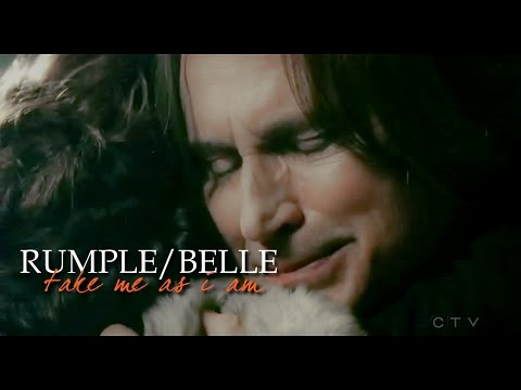 [ouat] rumple/belle » take me as i am {+4x06}