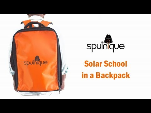 Portable solar powered smart classroom