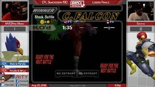 CFL Smackdown 190 Melee - MVG King Momo (Falco) Vs Gahtzu (Falcon) - Losers Finals