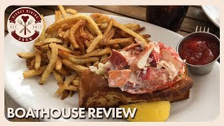 Boathouse Lunch Review | Disney Dining Show | 12/22/17