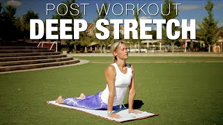 15 Min Post Workout Deep Stretch Yoga Class - Five Parks Yoga by Five Parks Yoga w/ Erin Sampson
