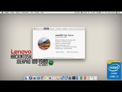 Lenovo B50-80 Hackintosh MOD - смотреть онлайн на Hah Life
