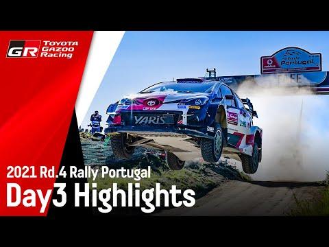 エバンスが今季初優勝!ToyotaGazooRacing 第4戦ラリー・ポルトガル Day3ハイライト動画