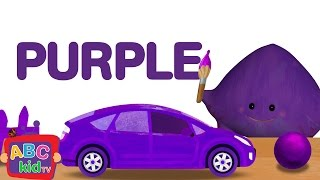 Color Song - Purple | Cocomelon (ABCkidTV) Nursery Rhymes & Kids Songs