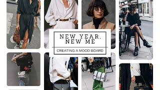 Creating A Fashion Mood Board|Edgy & Professional (New Year, New Me Series)