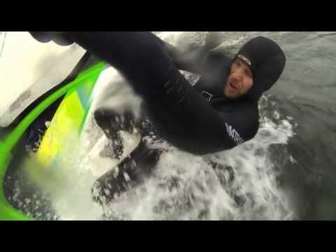 Kickass 2 in1 slalom wave prototype