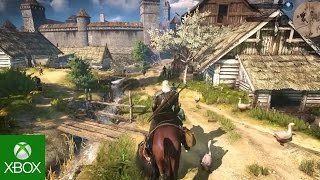 The Witcher 3: Wild Hunt - 35min gameplay demo