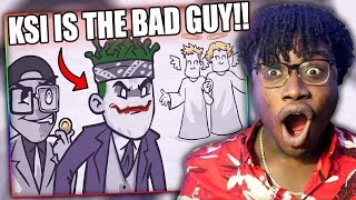 KSI & DEJI ARE THE BAD GUYS! | KSI Has Already Lost To LOGAN PAUL Reaction!
