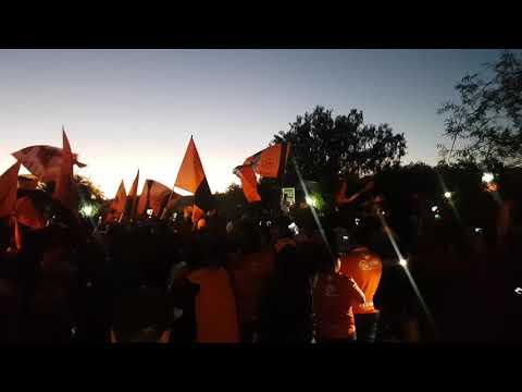 """""""Banderazo Cobreloa, Huracan Naranja 1"""" Barra: Huracan Naranja • Club: Cobreloa"""