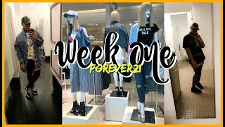 VLOG | My FIRST Week at Forever21